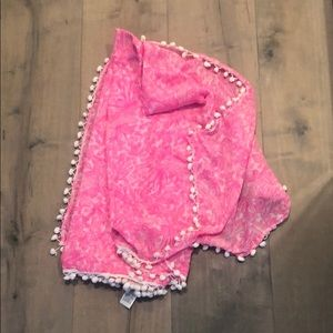 Lilly Pullitzer Pink scarf